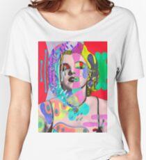 pop art Women's Relaxed Fit T-Shirt