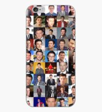 Cory Monteith Collage - Many Items iPhone Case