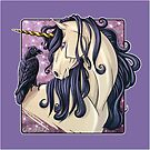 Gothic Unicorn  by cybercat