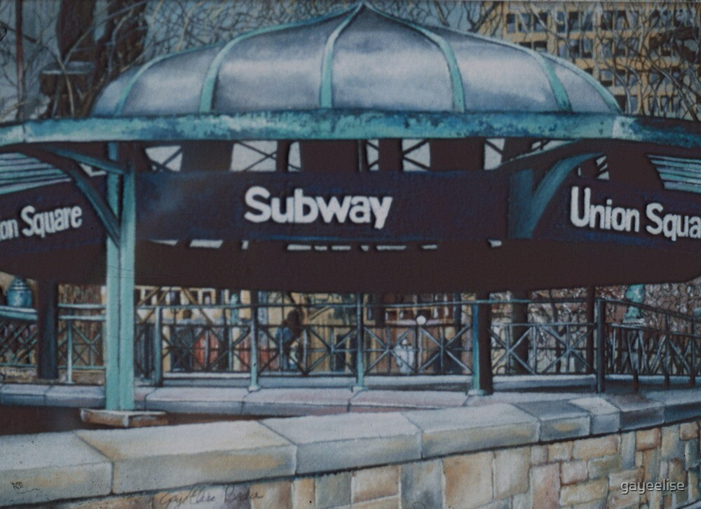 Subterranean Blues, New York City by gayeelise