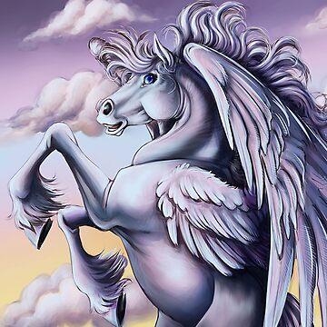 Cloud Pegasus by cybercat