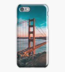 Golden State Bridge Skyline  iPhone Case/Skin