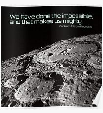 That makes us mighty Poster