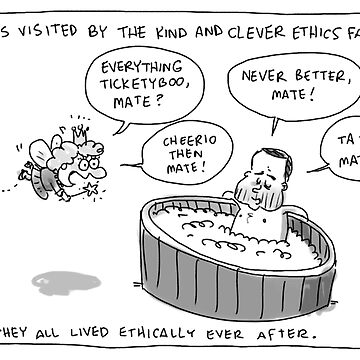 Bartlett and the Ethics Fairy by kudelka
