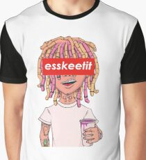 Lil Pump - ESSKEETIT box logo Graphic T-Shirt