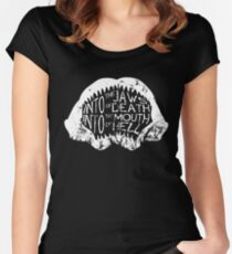 Into the Jaws of Death Into the Mouth of Hell Women's Fitted Scoop T-Shirt