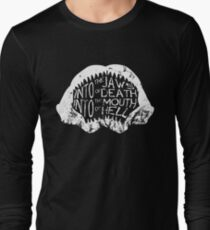 Into the Jaws of Death Into the Mouth of Hell Long Sleeve T-Shirt