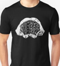 Into the Jaws of Death Into the Mouth of Hell Unisex T-Shirt