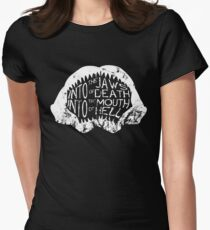 Into the Jaws of Death Into the Mouth of Hell Women's Fitted T-Shirt