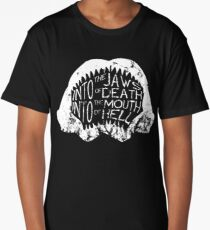 Into the Jaws of Death Into the Mouth of Hell Long T-Shirt