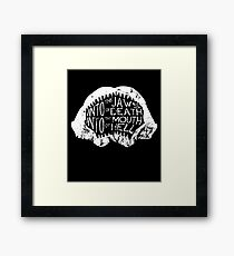 Into the Jaws of Death Into the Mouth of Hell Framed Print