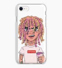 Lil Pump - Box logo  iPhone Case/Skin