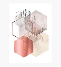 Geometrische Abstraktion Fotodruck