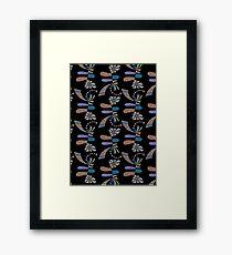 Boost black Framed Print