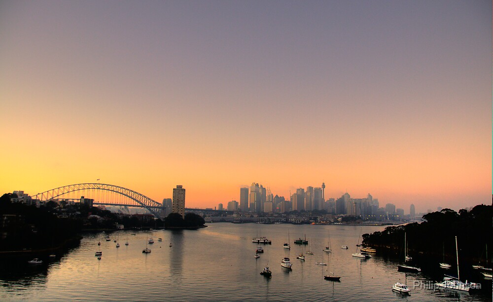 Perfection - Sydney Harbour Morn - Moods Of A City # 32 - THe HDR Series by Philip Johnson