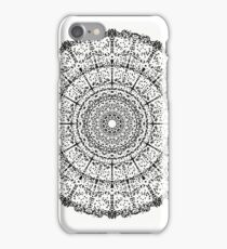 Music Mandala BNW iPhone Case/Skin
