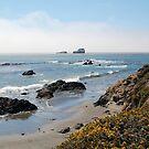 Fog Rolling Coastal by AsEyeSee