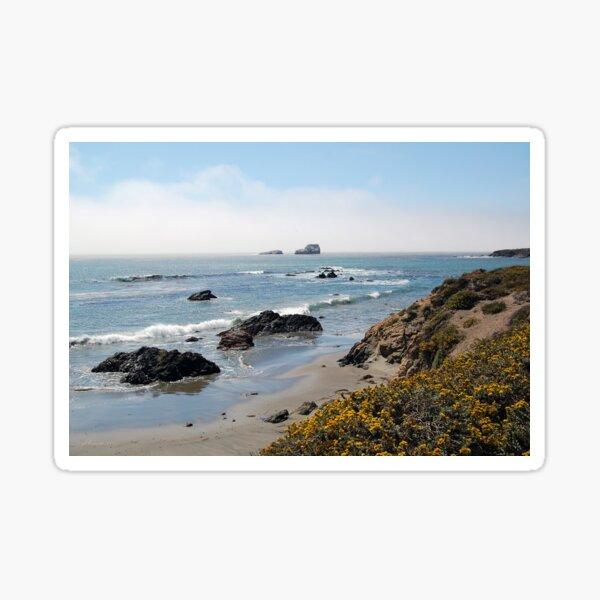 Fog Rolling Coastal Sticker