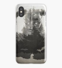 Skyrim DragonBorn Poster iPhone Case/Skin
