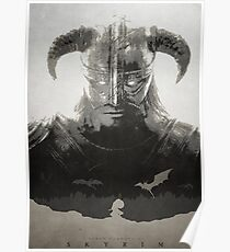 Skyrim DragonBorn Poster Poster