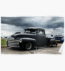 Classic American Pick Up Truck Poster