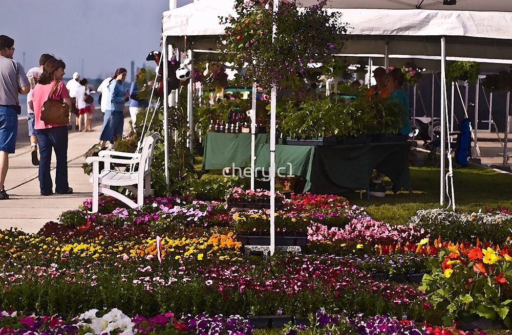 the Flower Market! by cherylc1