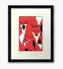 Foxes from 'In The Court of King Rat' Framed Print