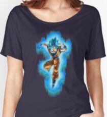 Goku Blue God Women's Relaxed Fit T-Shirt