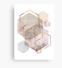 Geometric Abstract  Canvas Print