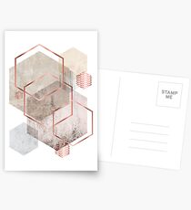 Geometric Abstract  Postcards