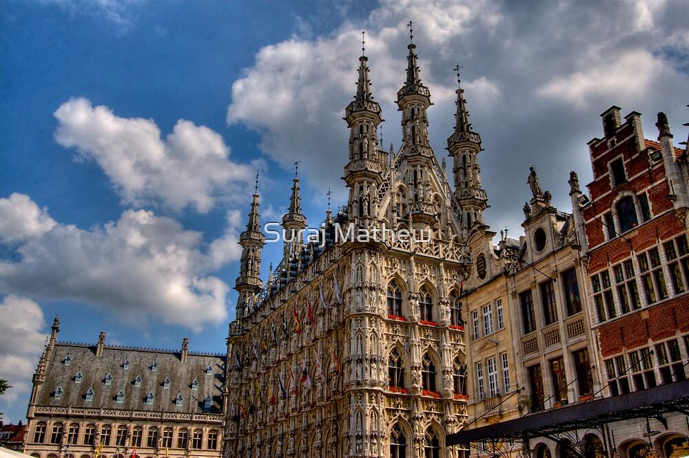 Leuven Town Hall by Suraj Mathew