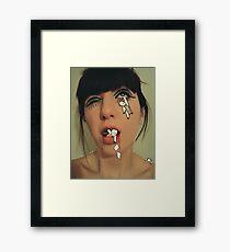 sick process Framed Print