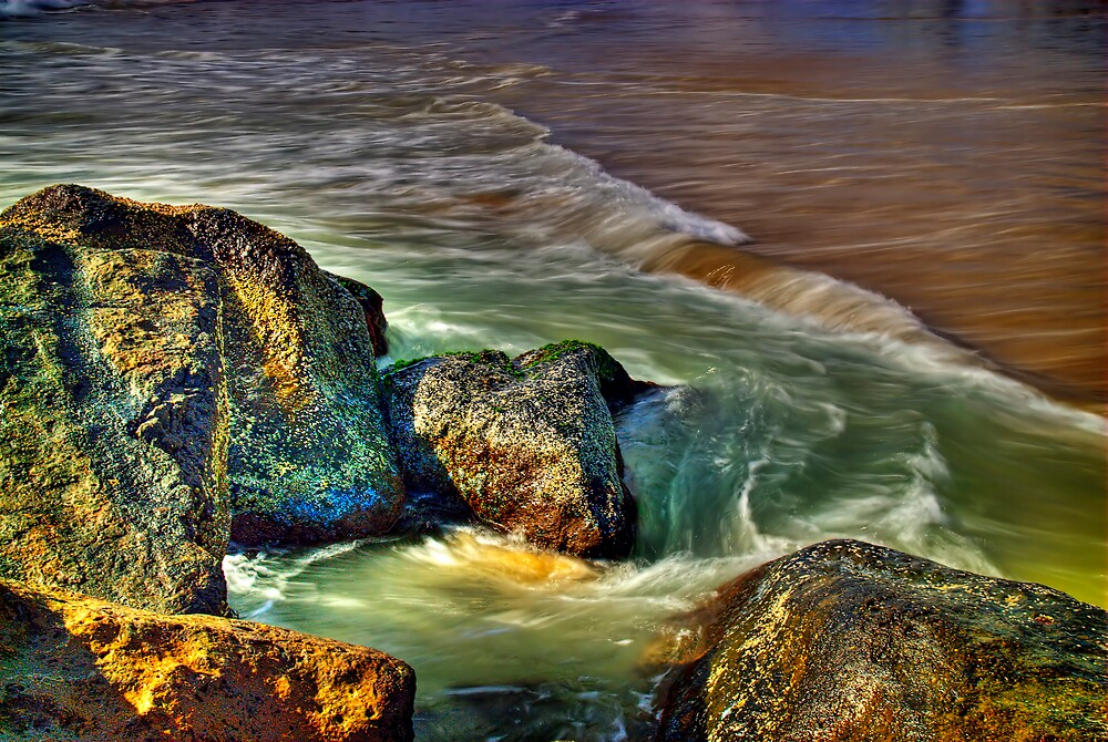 Water Motion by Simon Muirhead