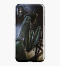 Can't sneak up on a mantis iPhone Case/Skin