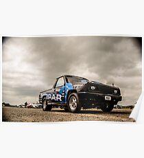Classic Mopar Truck Poster