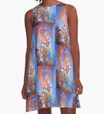 Midnight Sun A-Line Dress
