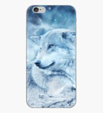 Weißer Eiswolf iPhone-Hülle & Cover