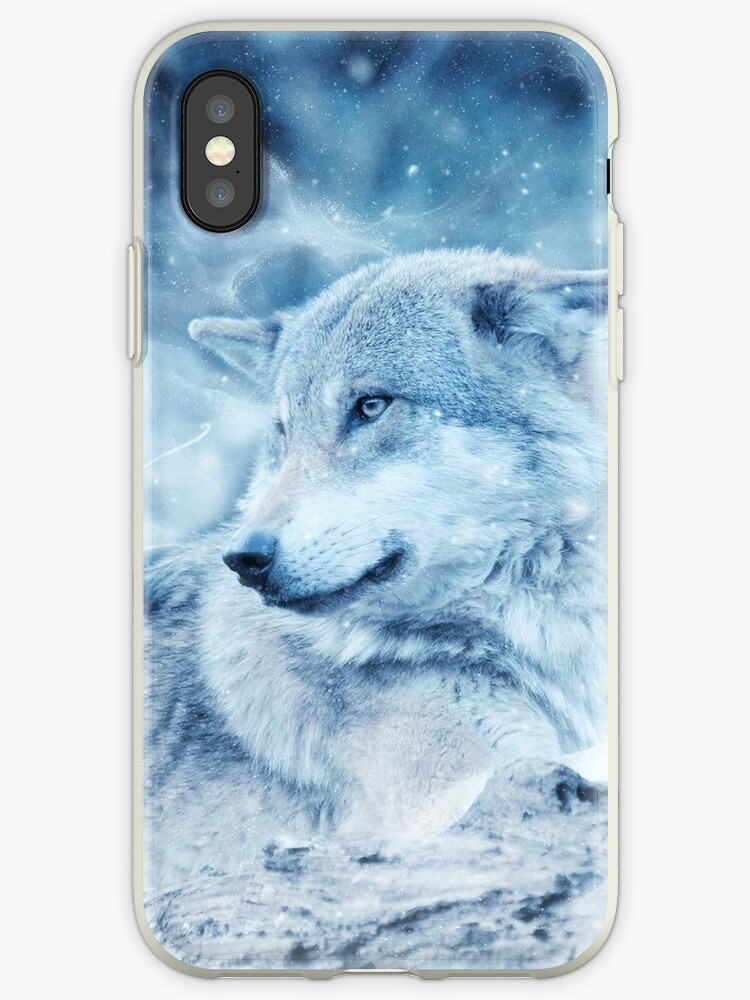 wolf iphone xr case