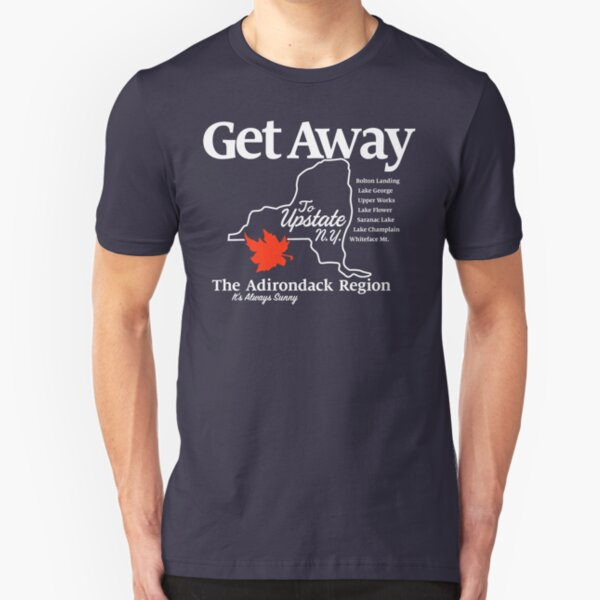Get Away – Upstate New York Slim Fit T-Shirt