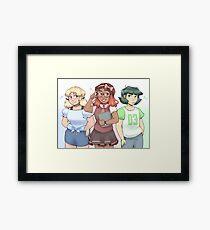 Powerpuff Framed Print