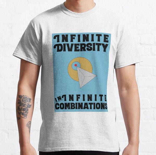 Infinite Diversity in Infinite Combinations Classic T-Shirt