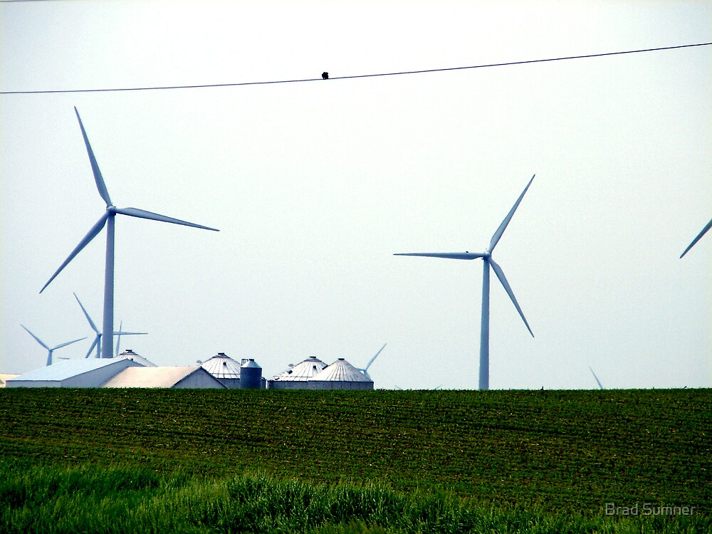 Farming the Wind 3 by Brad Sumner
