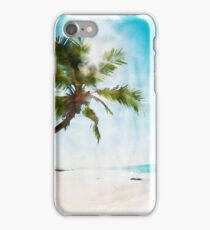 Leaning Towards The Sea iPhone Case/Skin