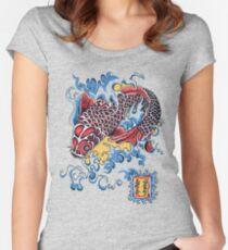 Koi t-shirt Women's Fitted Scoop T-Shirt