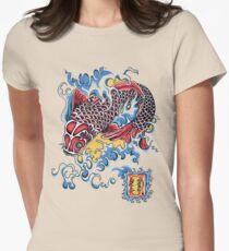 Koi t-shirt Women's Fitted T-Shirt