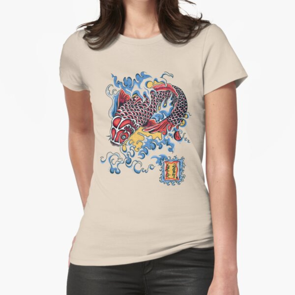 Koi t-shirt Fitted T-Shirt