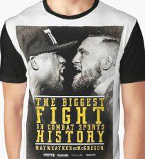 MCGREGOR VS MAYWEATHER Graphic T-Shirt