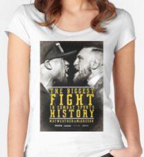 MCGREGOR VS MAYWEATHER Women's Fitted Scoop T-Shirt