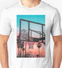 Basketball Sunset T-Shirt