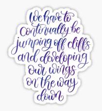 Kurt Vonnegut Quote Sticker